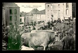 85 - POUZAUGES - LE CHAMP DE FOIRE - Pouzauges