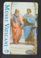 ITALIA  -VATICAN  2019 - Entrance Ticket To Museum Of The Vatican -Billet D'entrée - 2 Scans - Tickets D'entrée