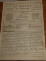 La Semaine Des Constructeurs. N°17. 4 Novembre 1876. Nouveaux Systèmes De Tramways. Concours à Saïgon. Pont De Pesth. - Livres, BD, Revues