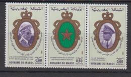 MAROC-1981-N°884A** CREATION DES FORCES ARMEES - Maroc (1956-...)