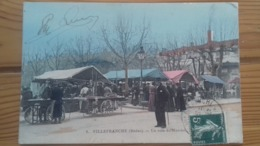 CPA VILLEFRANCHE SUR SAONE - Villefranche-sur-Saone