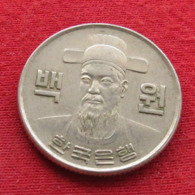 Korea South 100 Won 1973 KM# 9  Corea Coreia Do Sul Koree Coree - Korea, South