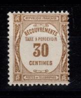 Taxe YV 57 N** Cote 12 Euros - Postage Due