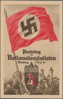 Ansichtskarten: Propaganda: 1929, REICHSPARTEITAG NÜRNBERG Offizielle Parteitags-Postkarte N° 2, Kle - Parteien & Wahlen