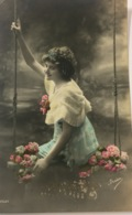 (1029) Vive Marie -  Irisa - Meisje Op De Schommel - 1911 - Fête Des Mères