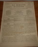La Semaine Des Constructeurs. N°19. 18 Novembre 1876. Le Pont De Grenelle. Calorifères De Cave En Fonte. - Livres, BD, Revues
