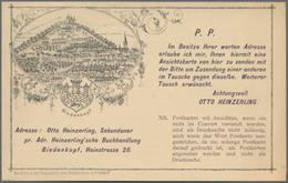 Ansichtskarten: Vorläufer: 1888 Ca., BIEDENKOPF, Ungebraucht Vorläuferkarte In Sehr Guter Erhaltung. - Ohne Zuordnung