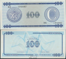 Kuba Pick-Nr: FX25 Bankfrisch 100 Pesos - Kuba
