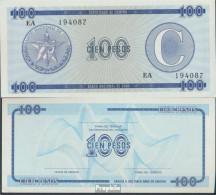 Kuba Pick-Nr: FX25 Bankfrisch 100 Pesos - Cuba