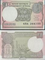Indien Pick-Nr: 117b Bankfrisch 2016 1 Rupee - Indien