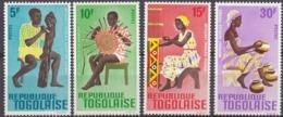 TOGO - 1966 - Serie Completa Formata Da 4 Valori Nuovi MNH: Yvert 495/498. - Togo (1960-...)