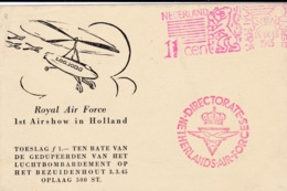 Carte Spéciale Par Hélicoptère Manifestation Aéronautique Et Philatélique 15/9/1945 - Poste Aérienne