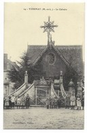 49-YZERNAY-Le Calvaire... 1915  Animé   (dos Crème) - France