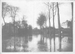 PIE.GRAND-FORMAT-19-GM-489 :  INONDATIONS 1910. RUEIL-MALMAISON. AVENUE DE PARIS - Lieux