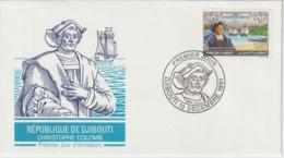 Djibouti.1992   .FDC .Christophe Colomb. Columbus - Cristoforo Colombo