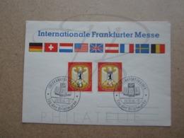 VEND CARTE FDC DE BERLIN N° 114 + 115 !!! - FDC: Sobres