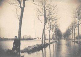 PIE.GRAND-FORMAT-19-GM-492 :  INONDATIONS 1910. NANTERRE. BOULEVARD DE LA SEINE. - Lieux