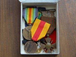 Lot De Medailles Militaire Guerre 14/18 Dont Celle Des Troupes Américaines Victorieuses à Saint Mihiel En Septembre 1918 - France