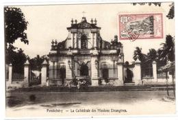 PONDICHERY - La Cathédrale Des Mission Etrangères - India