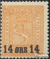 Norvège 154 (complète.Edition.) Avec Charnière 1929 Timbre-poste - Norvège