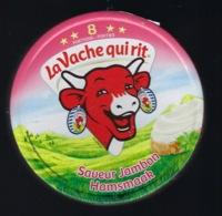 """Etiquette Fromage La Vache Qui Rit   """" Saveur Jambon Hamsmaak  8 Portions  """" - Fromage"""