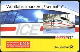 64 MH Eisenbahn, Gestempelt ESSt Berlin - [7] Repubblica Federale