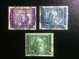 REGNO ITALIA  - Proclamazione Dell'impero -  POSTA AEREA - 28 Ottobre 1938 - LOTTO 03 FRANCOBOLLI DIVERSI - 1900-44 Victor Emmanuel III