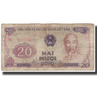Billet, Viet Nam, 20 D<ox>ng, KM:94s, TTB - Viêt-Nam
