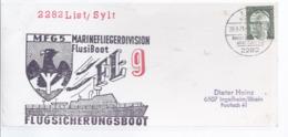 AK-div.27- 183 . List Sylt   Umschlag   - Bundesmarine  Marinefligerdivision Flusiboot  FL 9 - Flugsicherungsboot - Militaria