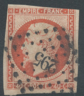 Lot N°50850  N°16, Oblit PC 295 Bayonne, Basses-Pyrénées (64) - 1853-1860 Napoléon III