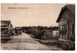 MITRY MORY AVENUE DE LA GARE AUTOMOBILE ANIMEE - Mitry Mory