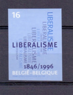 2628 LIBERALISME ONGETAND POSTFRIS** 1996 - Belgique