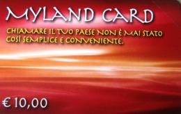 NUOVA -(Mint)--1828- TELECOM ITALIA--MYLAND CARD -DA E. 10,00- - Italia