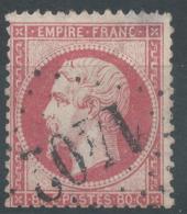 Lot N°50852  N°24, Oblit GC 1402 Epinal, Vosges (82) - 1862 Napoléon III