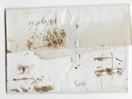 1808 - DEBOURSE De CLERMONT-FERRAND Au DOS De LETTRE De BILLOM - PUY DE DOME - 1801-1848: Précurseurs XIX