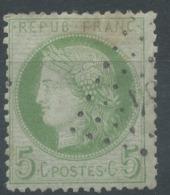 Lot N°50853  Variété/n°53, Oblit PC Du GC, Nuage Blanc Face A L'oeil Et Perles EST - 1871-1875 Cérès