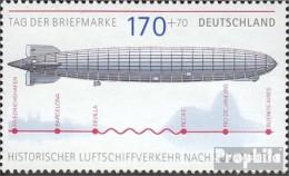 BRD 2589 (kompl.Ausg.) Postfrisch 2007 Luftschiff LZ 127 Graf Zeppelin - BRD