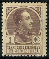 Guinea Española Nº 128 En Nuevo - Guinea Española
