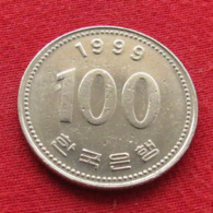 Korea South 100 Won 1999 KM# 35.2  Corea Coreia Do Sul Koree Coree - Korea (Zuid)