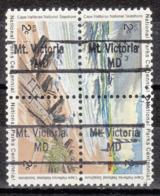 USA Precancel Vorausentwertung Preo, Locals Maryland, Mount Victoria 843, Hatteras Block - Vereinigte Staaten
