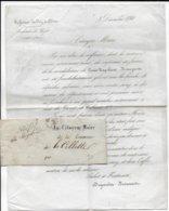 1848 - LETTRE SOUS BANDE Du PREFET Du PUY DE DOME Avec INFO Sur FRAUDE POSTALE En FAVEUR De NAPOLEON ! - 1801-1848: Precursors XIX