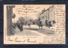 70. Lure. Avenue De La Gare - Lure