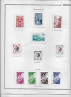 Monaco - Collection Vendue Page Par Page - Timbres Neufs * Avec Charnière - TB - Collections, Lots & Séries