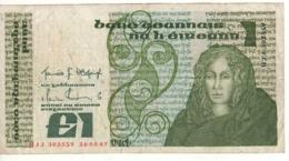 IRELAND 1 Pound   P70c   Dated 16-2-1987 - Ierland