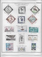 Monaco - Collection Vendue Page Par Page - Timbres Neufs * Avec Charnière - TB - Lots & Serien