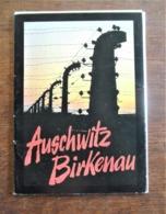 Boekje Met 9 Postkaarten 1992  AUSCHWITZ  BIRKENAU   POLEN - War Memorials
