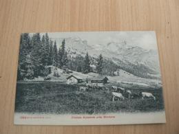 CP 77 / SUISSE /  CHALETS ALPESTRES PRES MONTANA / CARTE NEUVE - Suiza