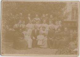 Photographie - Famille Et Employés Parc - Magasin - Femmes Mode - Photographie Fin XIXème Siècle - 10 Juin 1896 - Fotografía