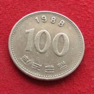 Korea South 100 Won 1988 KM# 35.2  Corea Coreia Do Sul Koree Coree - Korea (Zuid)