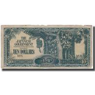 Billet, MALAYA, 10 Dollars, KM:M7b, B - Malaysie